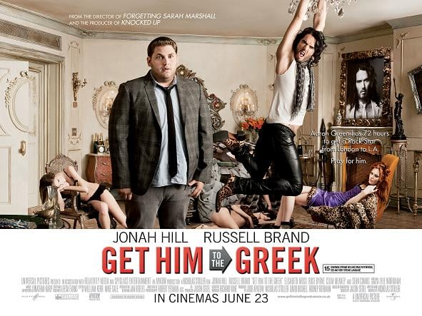 Pictures of Russell Brand in Get Him to the Greek