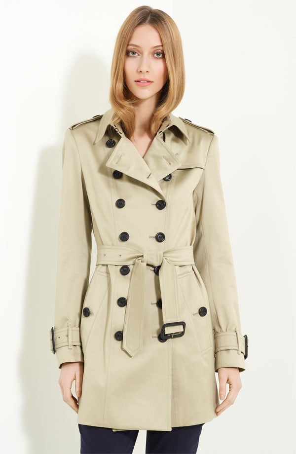 What's a trip to the likes of Dorset and Cornwall without a quintessential Burberry trench?  Burberry London Belted Trench Coat ($1,295)