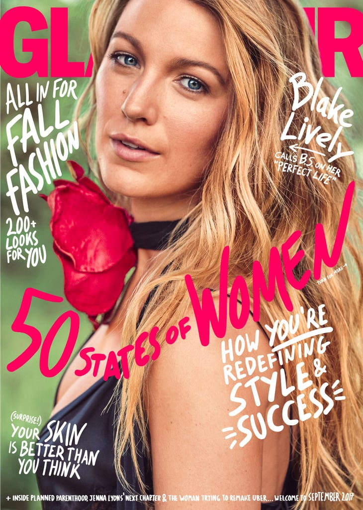 Blake Lively Glamour September 2017 Cover