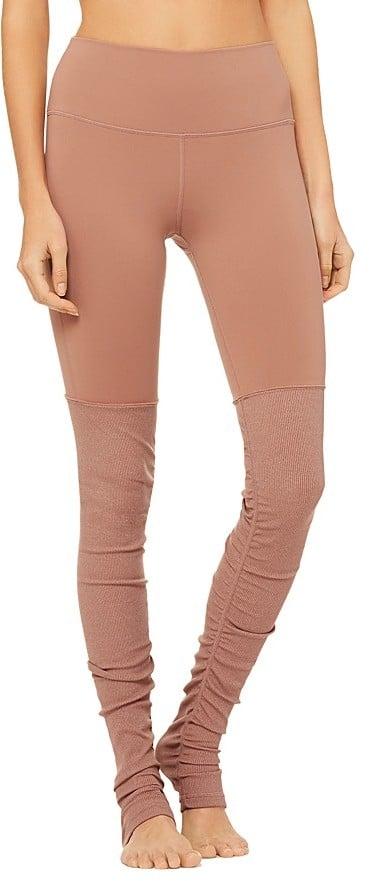 9d6c950a0f8cb Alo Yoga High-Waist Goddess Leggings | Best Yoga Pants For Tall ...