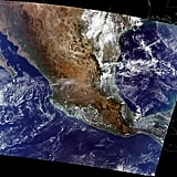 A true-color image of Mexico City was seen from NASA's Terra spacecraft.