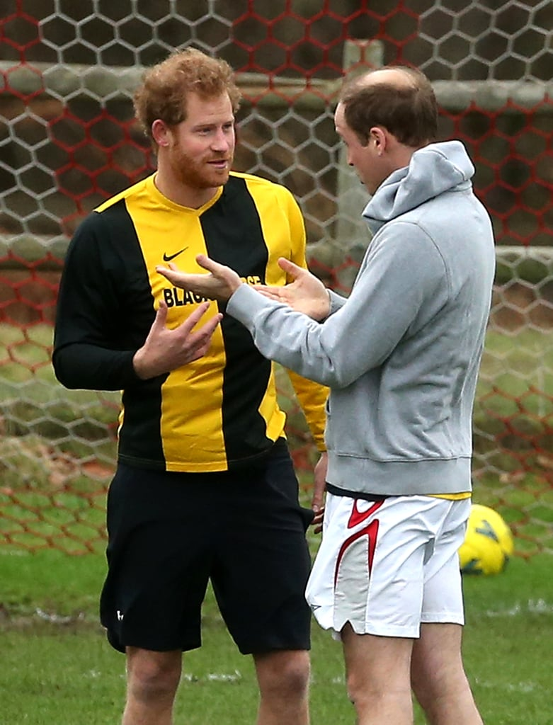 29 Pictures That Prove Prince William and Prince Harry's Sporting Prowess