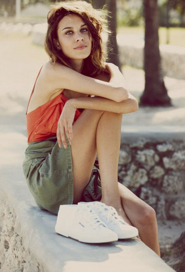 See Alexa Chung in The Summer Superga Campaign That She Directed
