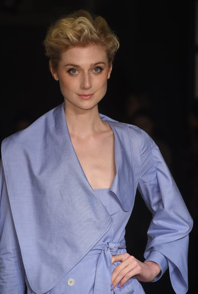 Elizabeth Debicki at Burberry