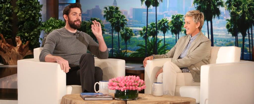 "John Krasinski on His Encounter With Leonardo DiCaprio at the Golden Globes: ""I Felt Pretty Stupid"""