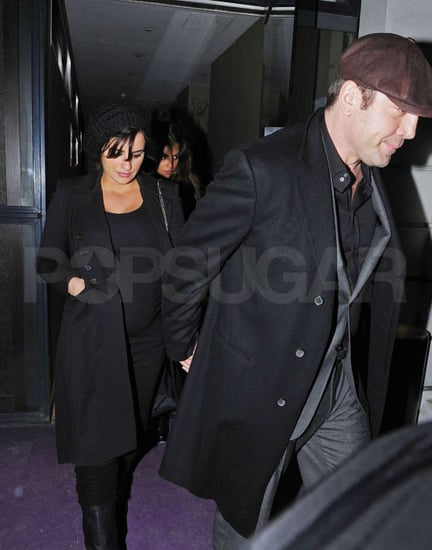 Pictures of Pregnant Penelope Cruz and Javier Bardem Out in London