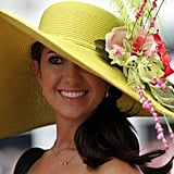 Check out this one sported at the 2011 Derby.