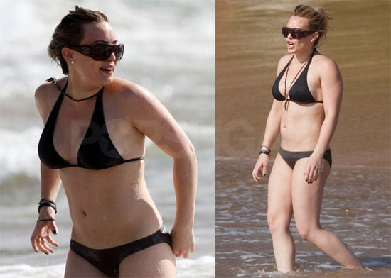 Bikini Photos of Hilary Duff in Hawaii
