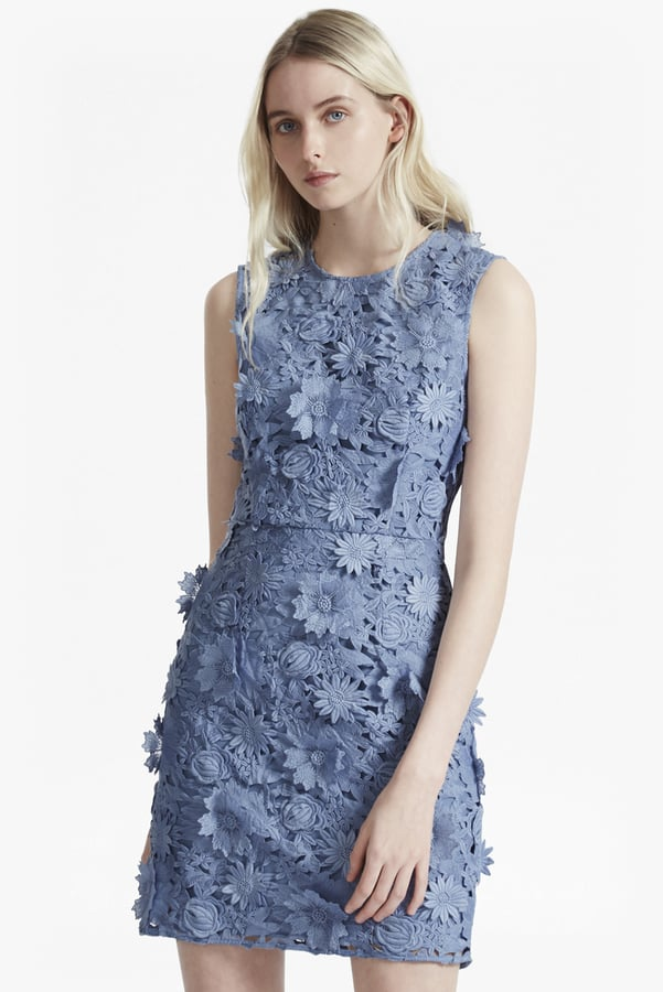 French Connection Manzoni 3d Floral Lace Dress