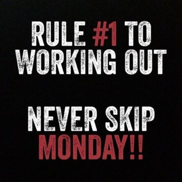 Workout Quotes New Never Miss A Monday Quotes POPSUGAR Fitness