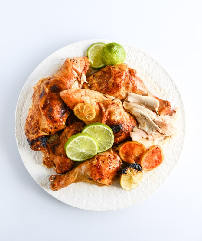 Chipotle Beer-Can Chicken