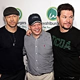 Mark, Donnie, and Paul Wahlberg