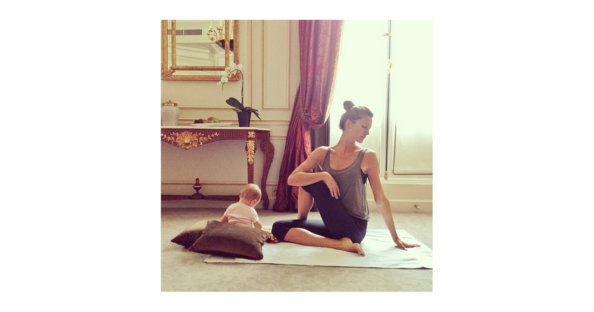 Anusara Yoga The Workouts That Keep Gisele Bundchen Healthy And Fit Popsugar Fitness Photo 5