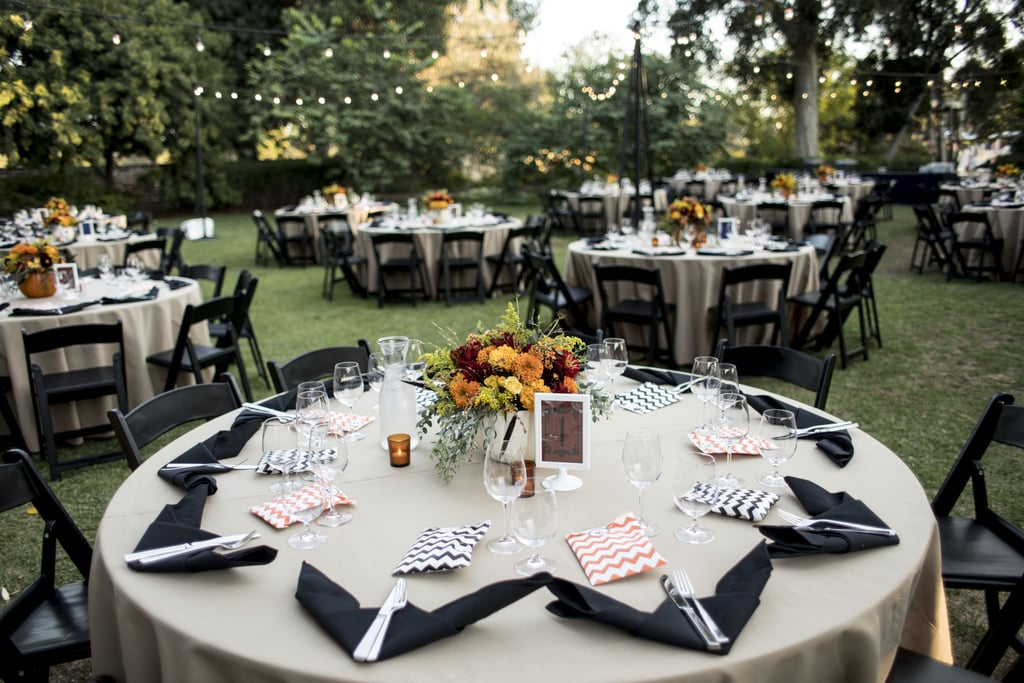 This Rustic Halloween Wedding Is Tastefully on Theme