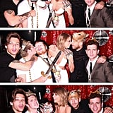 When he buddied up with Taylor's boyfriend, Calvin Harris.