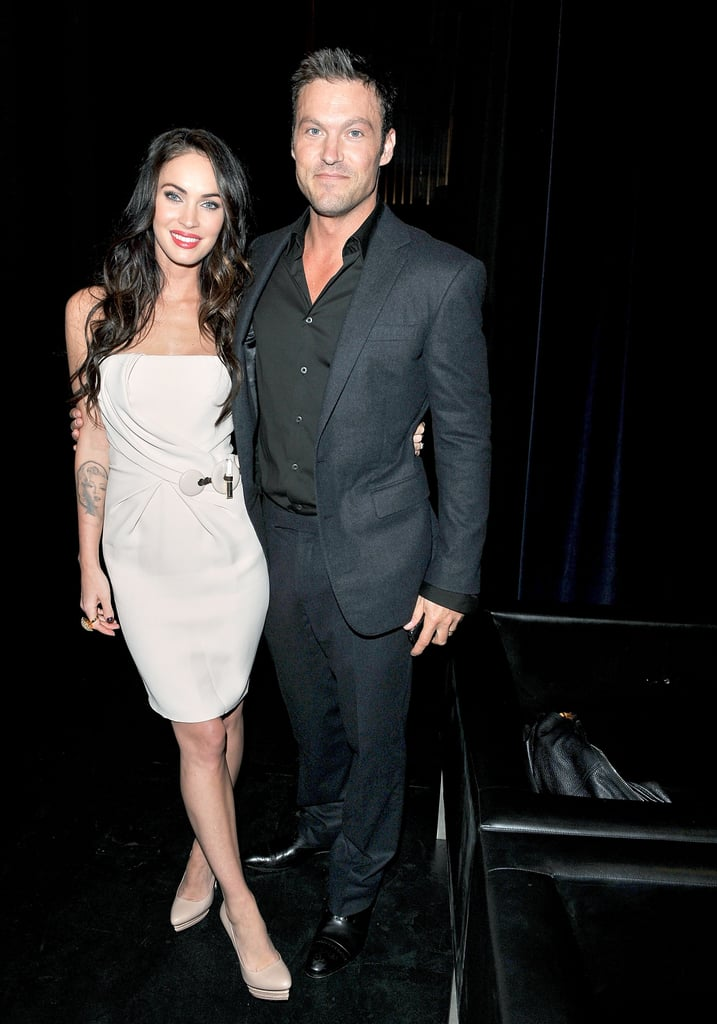 Megan Fox had her husband, Brian Austin Green, there to support her at the 2010 screening of Passion Play.