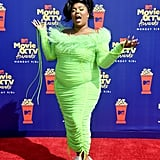 Lizzo's Neon Dress at the 2019 MTV Movie and TV Awards