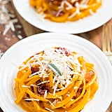 Roasted Butternut Squash Noodles With Crispy Prosciutto, Browned Butter, and Sage