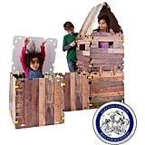 HearthSong Cabin Fantasy Fort Building Kit