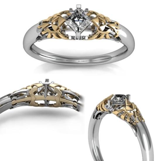 Princess Wedding Rings 87 Fancy