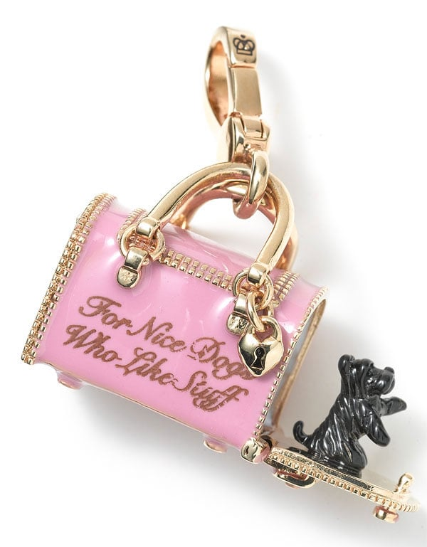 Juicy Couture Dog Carrier Charm