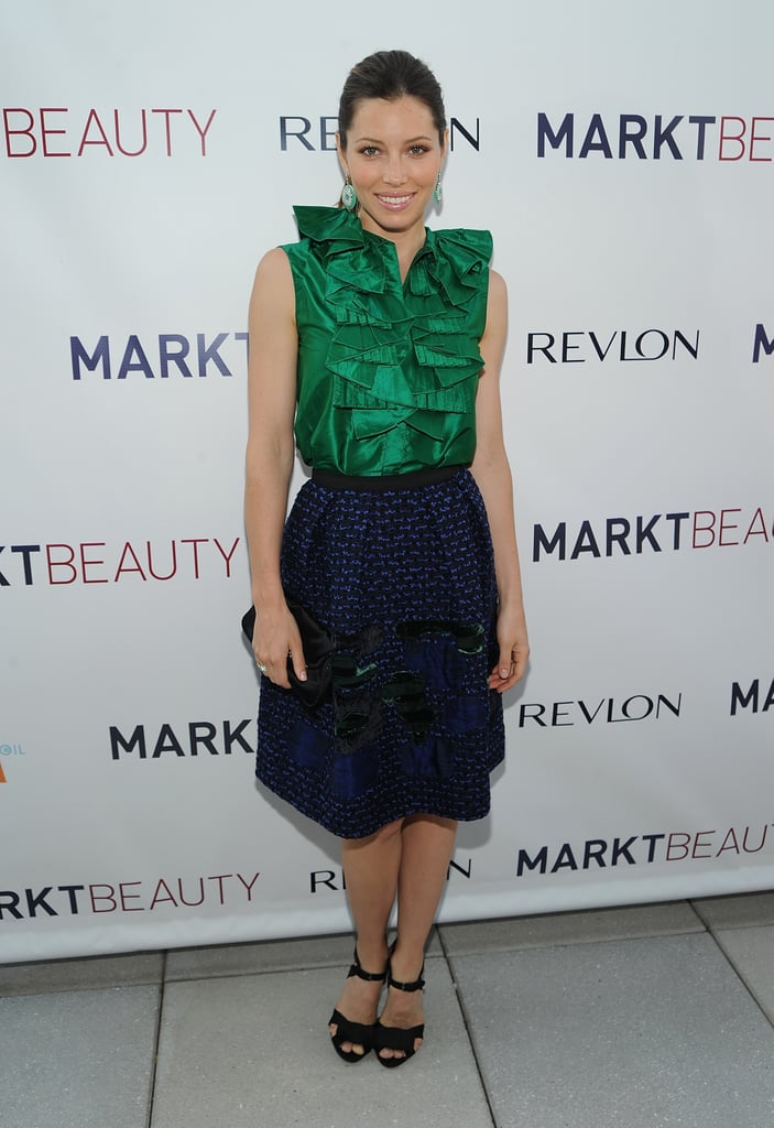 Pictures of Lea Michele, Jessica Biel, Ashley Olsen, Mary-Kate Olsen at Mark Townsend's Website's Launch in NYC
