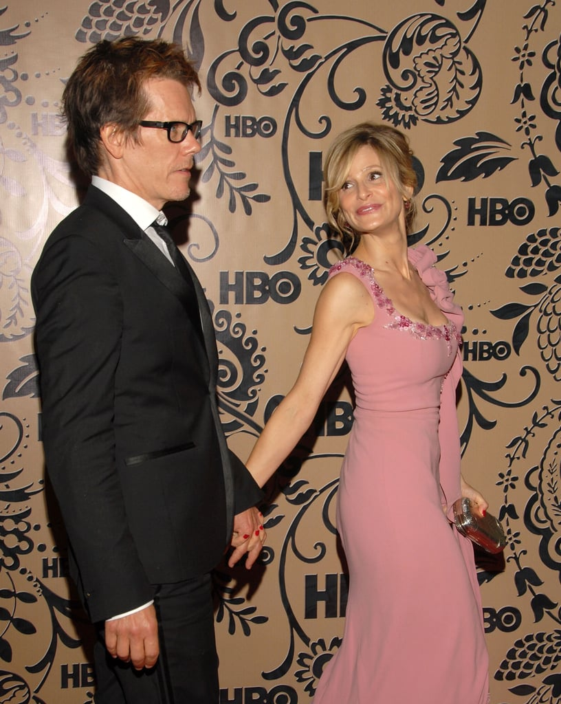 Kevin and Kyra flaunted their love by holding hands at an HBO party in West Hollywood in September 2009.