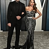 Sofia Vergara and Joe Manganiello at the Vanity Fair Oscars Afterparty 2020