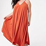 Plus-Size V-Neck Cami Dress