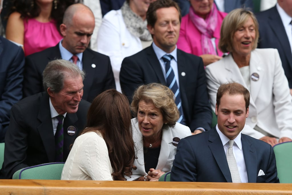 Prince William and Kate Middleton Take in Some Tennis at Wimbledon