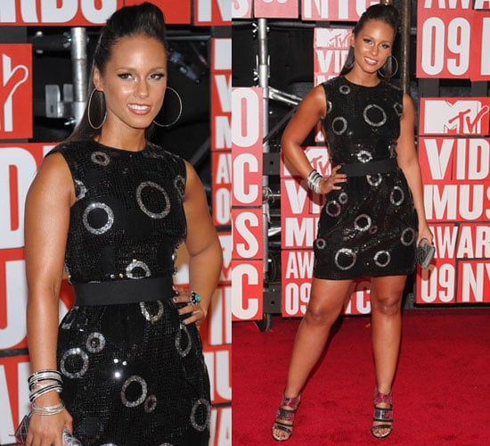 Photo of Alicia Keys at 2009 MTV Video Music Awards