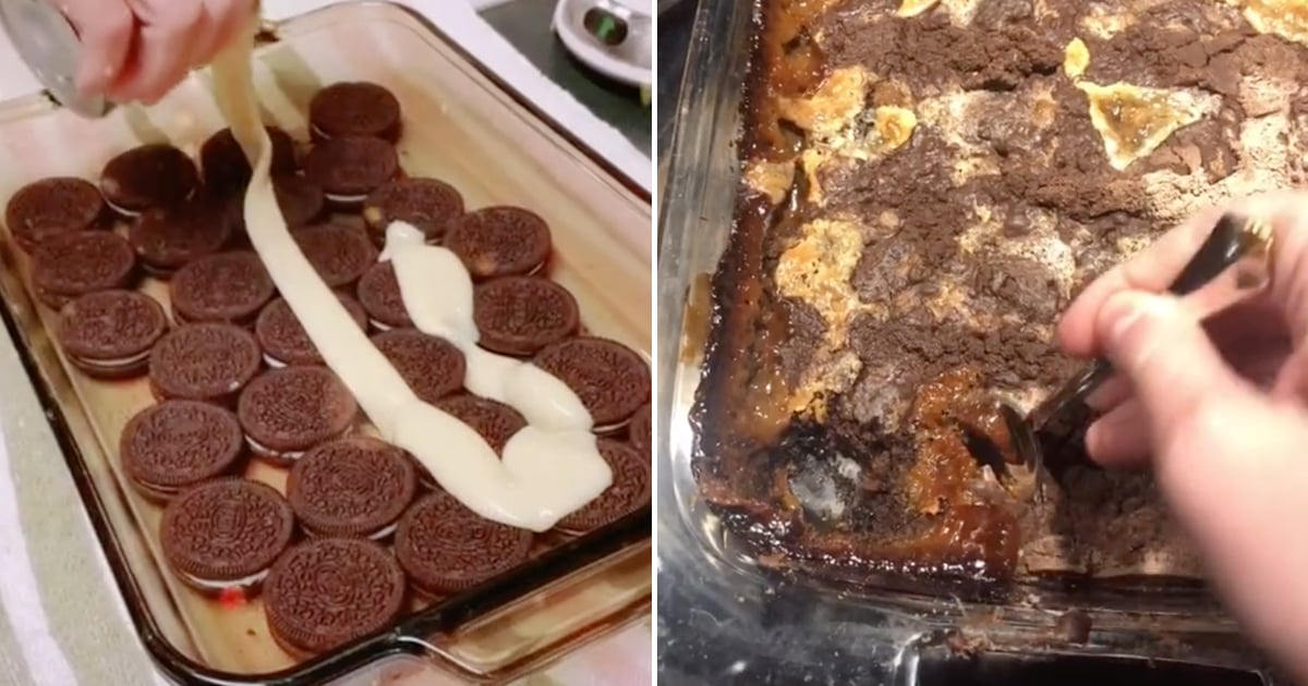 This 5-Ingredient Oreo Dump Cake Recipe Is Taking Over TikTok, and We're Drooling