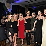 Ashley and Cara attended the Her Smell cocktail party at the RBC House Toronto Film Festival.