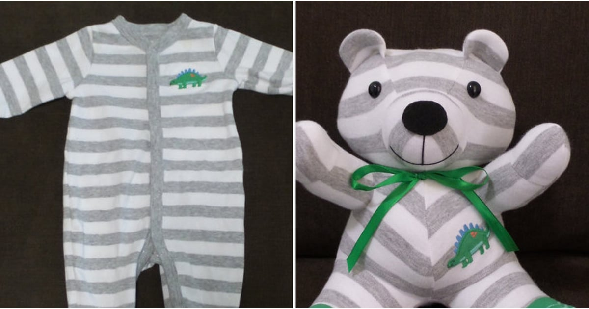 Recycling Baby Onesies Into Stuffed Animals Popsugar Family