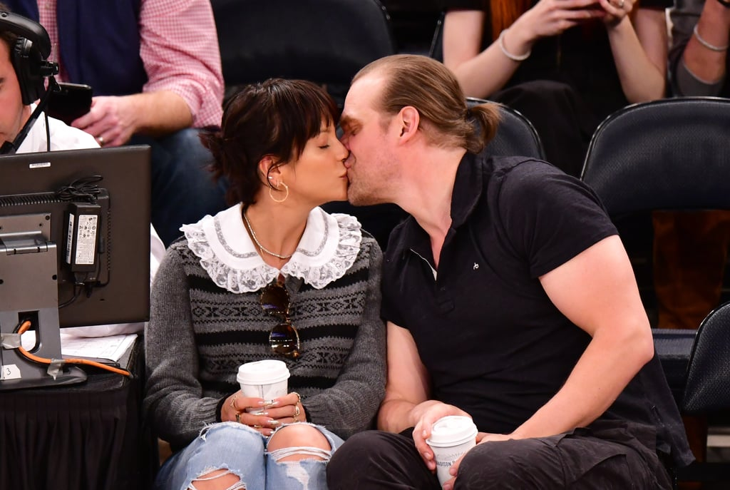 Lily Allen and David Harbour Photos