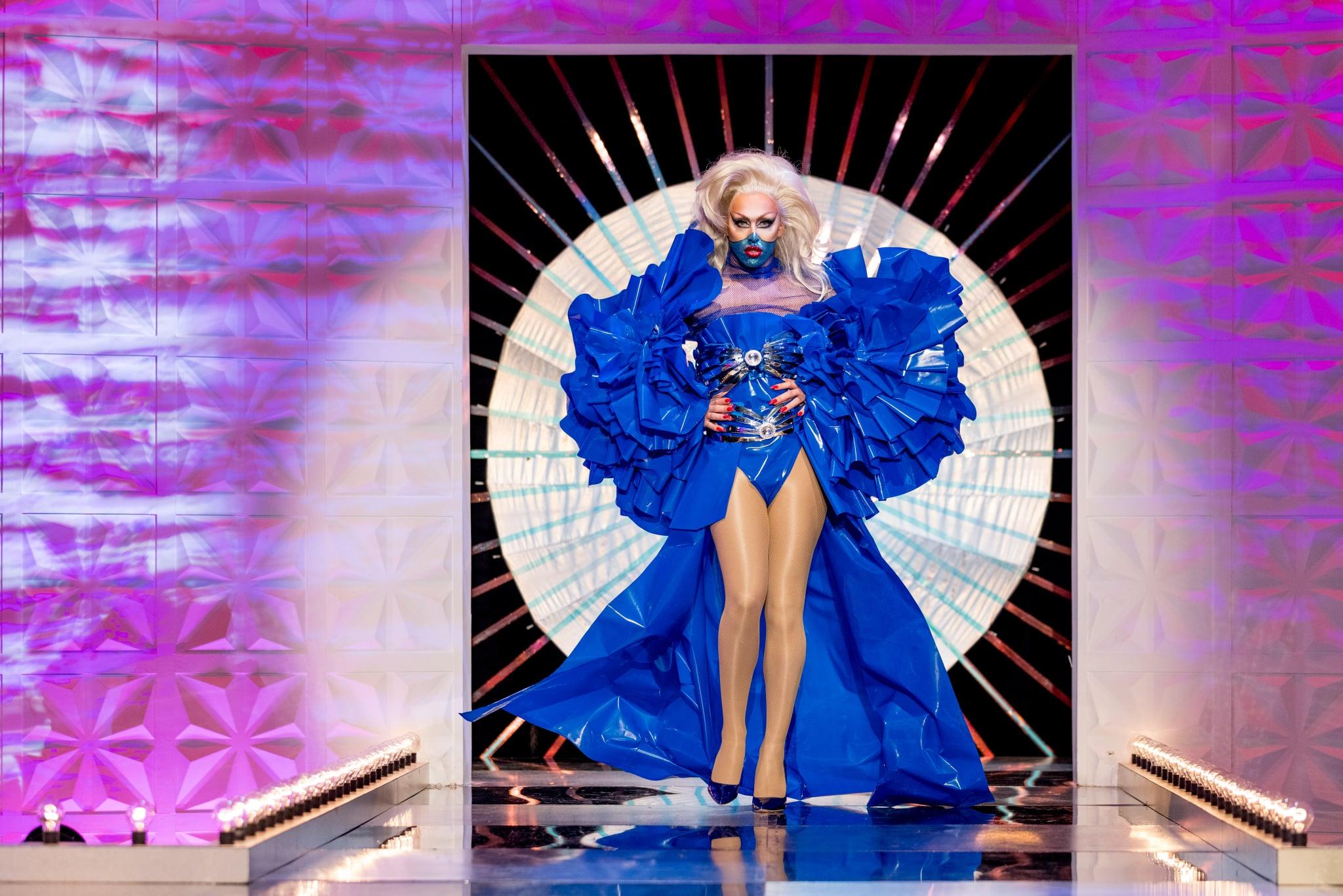 نام برنامه: RuPaul's Drag Race UK سریال 2 - TX: n / a - قسمت: RuPaul's Drag Race series UK 2 قسمت 7 (شماره 7) - نمایش های عکس: A'Whora - (C) World of Wonder - عکاس: گای لوی