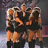 Ricky Martin performed during the 2005 show.