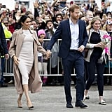 Meghan Markle's Burberry Trench Coat in New Zealand 2018