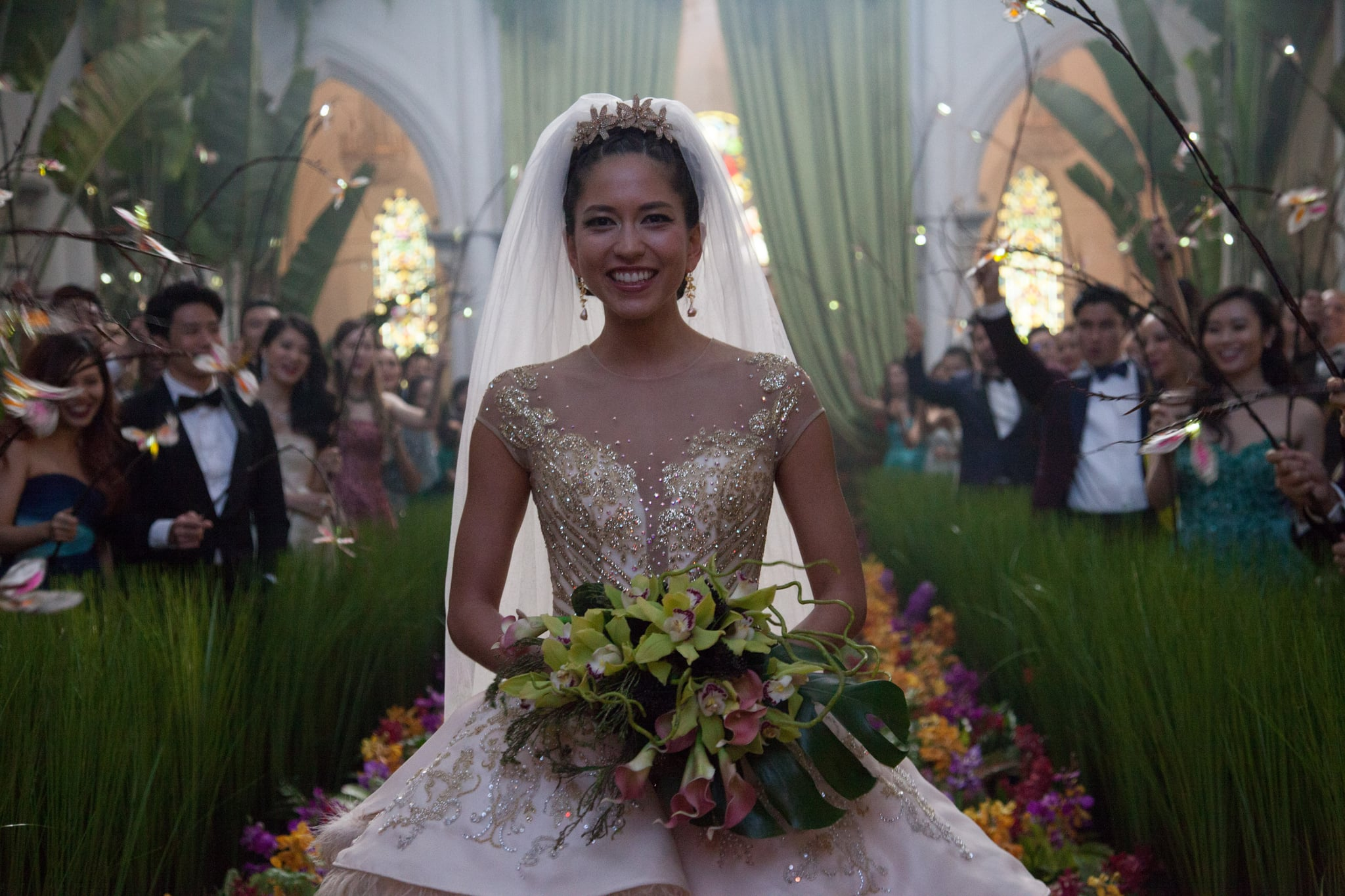 Song About Wedding.Crazy Rich Asians Wedding Song Popsugar Entertainment