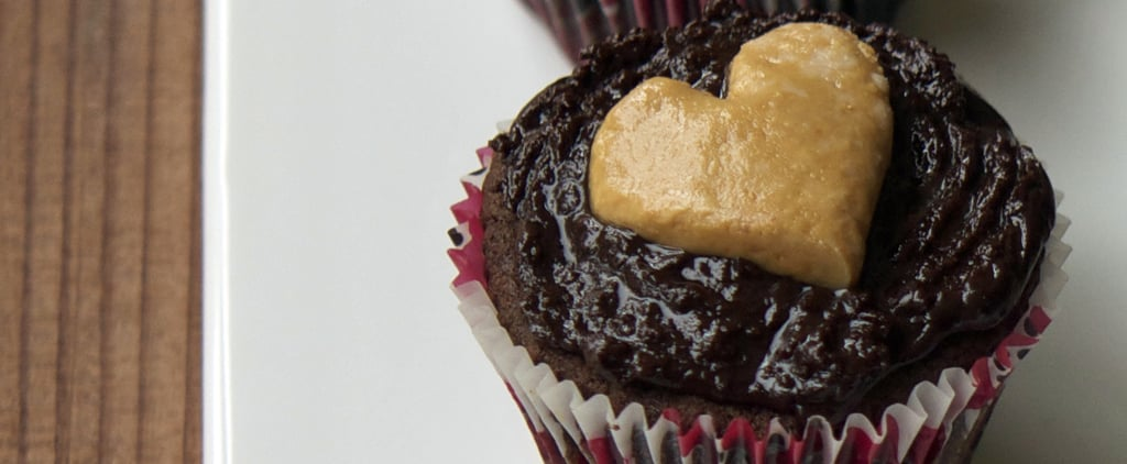 Woo Your Valentine With Double-Chocolate Peanut Butter Cupcakes