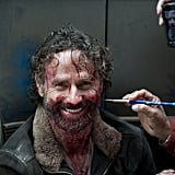 See? Even Rick Grimes Smiles Sometimes