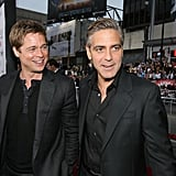 Brad Pitt and George Clooney Friendship Pictures