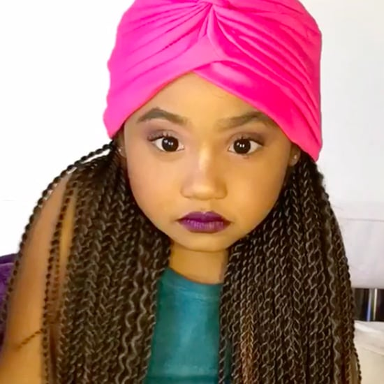 Christina Milian's Daughter's Makeup Tutorial