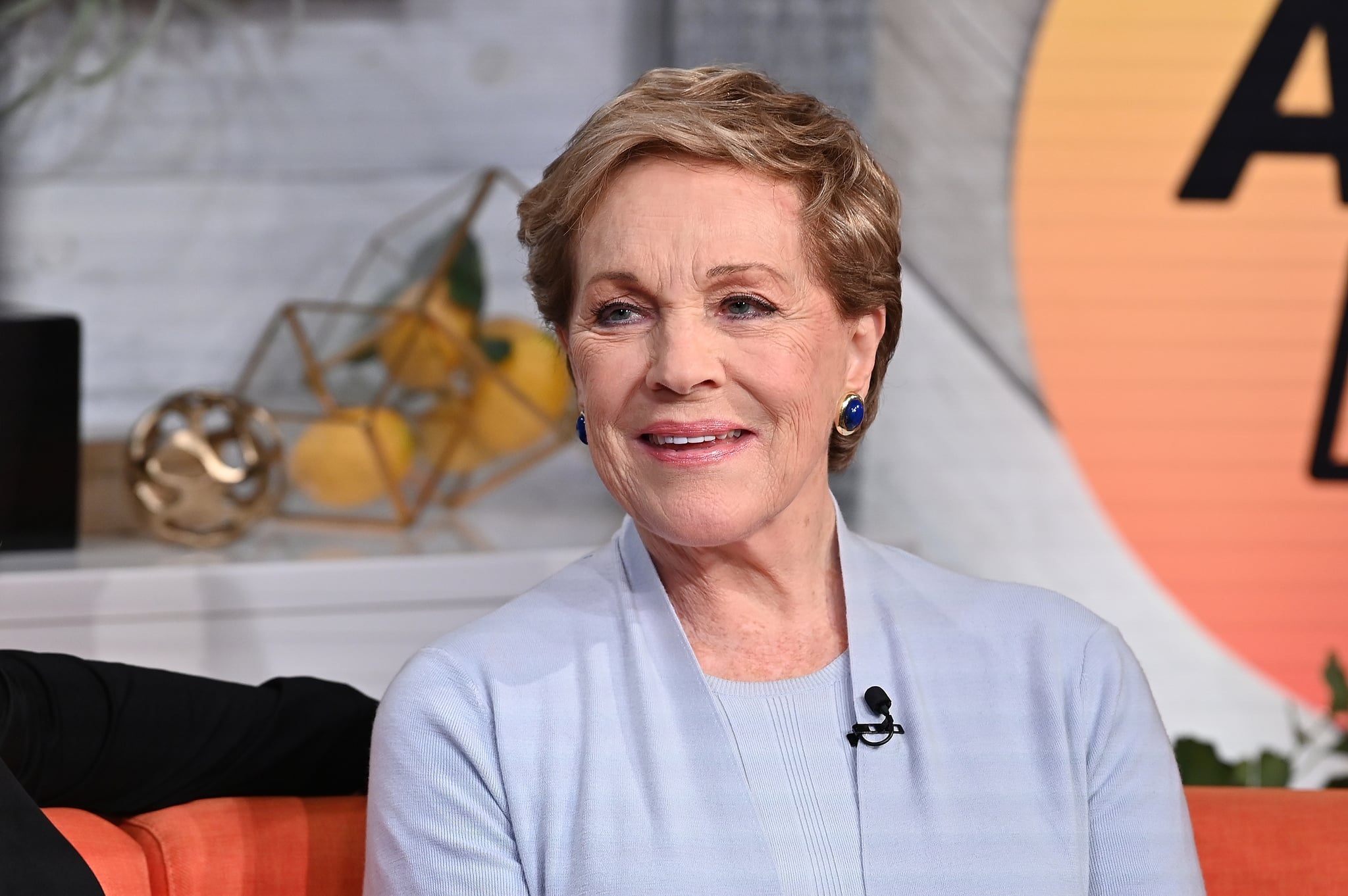 NEW YORK, NY - OCTOBER 15:  (EXCLUSIVE COVERAGE) Actress/singer Julie Andrews visit BuzzFeed's