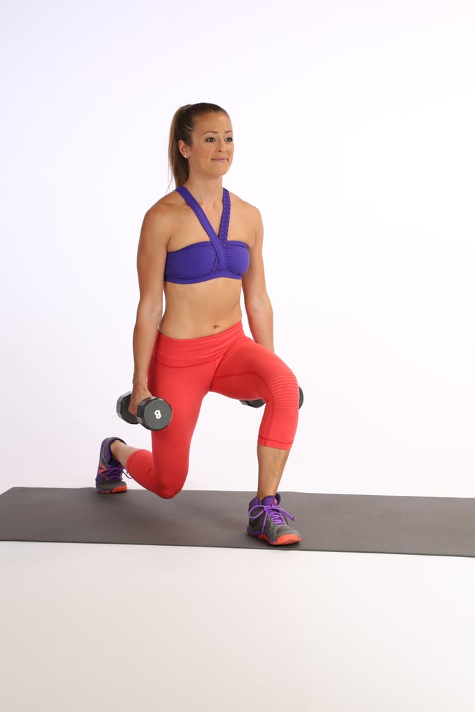 Circuit 2, Exercise 3: Weighted Split Squat