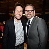 Paul Rudd and Steve Carell got some guy time at Comedy Central's Night of Too Many Stars event in NYC on Saturday.
