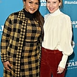 Mindy Kaling and Amy Ryan