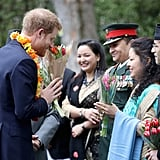 Prince Harry Reunites With Old Friends at a Special Ceremony in London