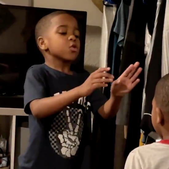 Video of Boy Calming Down Brother With Breathing Exercises