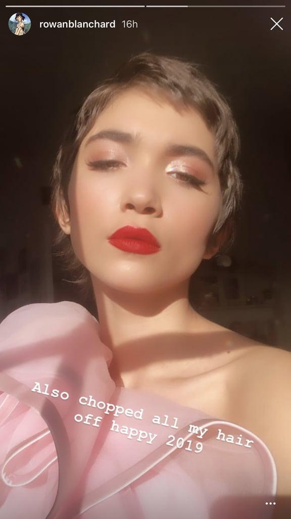 Rowan Blanchard Pixie Cut 2019